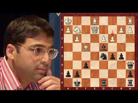 Amazing Chess Game: Luke McShane vs Vishy Anand :World Rapid Ch. (2017): King's Indian Attack