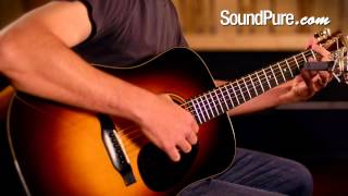 Bourgeois Vintage Varnish Mahogany Dreadnought Acoustic Guitar Demo