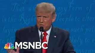 Fact-Checking Trump & Biden's Claims On Health Care During The Final Debate | Hallie Jackson | MSNBC