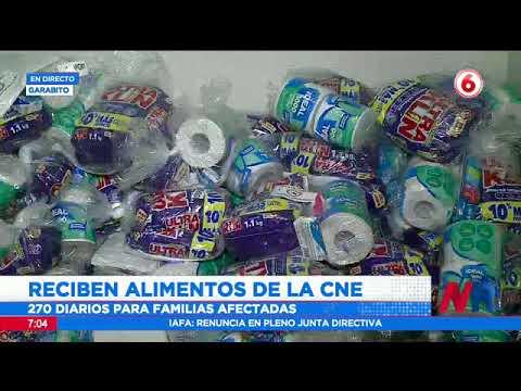 Llegan 270 diarios de ayuda para afectados por lluvias en Garabito