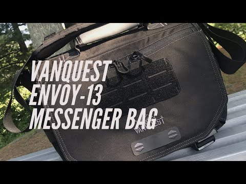 Vanquest Envoy-13 Messenger Bag: My New Everyday Carey Bag for Work and Life