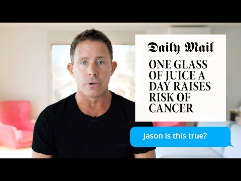 Jason On His Juice Box #6 – One Glass Of Juice Raises Risk Of Cancer