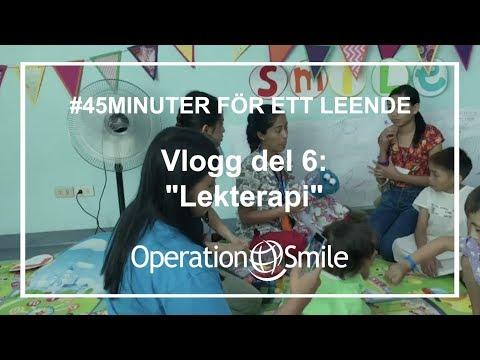 VLOGG - #45minuter för ett leende (Del 6: Lekterapi)