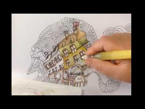 Fantastic Cities Coloring Book Download : 0.jpg