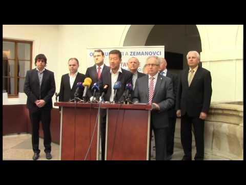 Tomio Okamura: Okamurovci a zemanovci jdou společně do krajských voleb