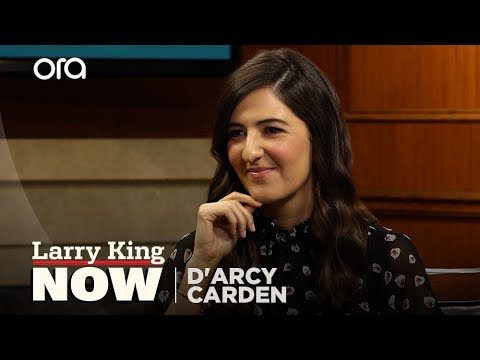 D'Arcy Carden and Larry King consider death