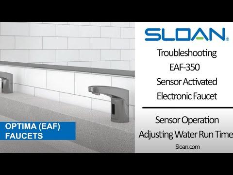 EAF-350 Faucet Maintenance Video