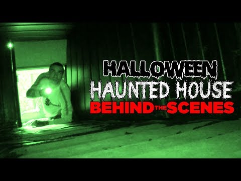 BEHIND THE SCENES! | Haunted House Escape Room | Danilo & Bernardo