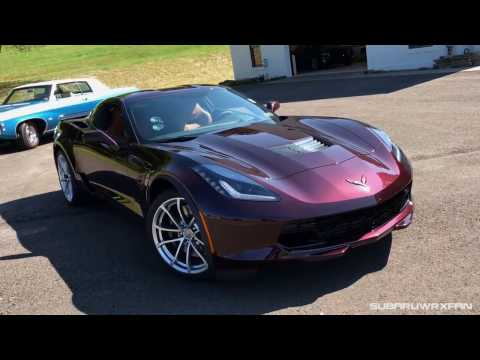 Awesome Reaction While Accelerating In A 2017 Chevy Corvette - Courtesy of SubaruWRXFan