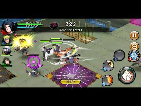 connectYoutube - NARUTO X BORUTO NINJA VOLTAGE Android Gameplay #11 (Naruto 3 Star Awakening)
