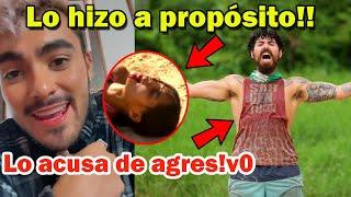 Dennis Arana dice que NO FUE ACCIDENTE lo de Kristal - Survivor México 2021