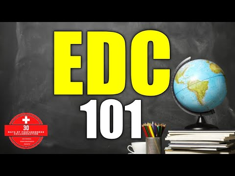 EDC 101: The Basics of Everyday Carry