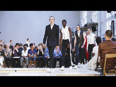 Alexander McQueen | Spring Summer 2018 Full Fashion Show | Menswear