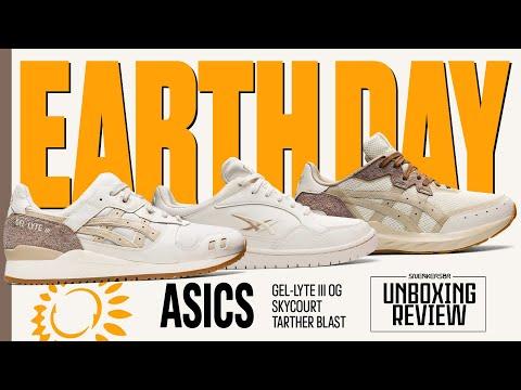 O Dia Da Terra Celebrado Através De Um Pack Especial | UNBOXING+REVIEW: ASICS 'Earth Day' Pack