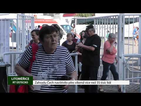 Zahradu Čech navštívilo přes víkend více než 35 tisíc lidí