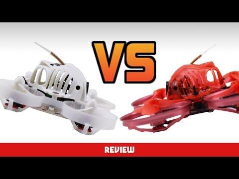 Search for the BEST BRUSHLESS WHOOP 2018!! URUAV UR65 review vs snapper 7