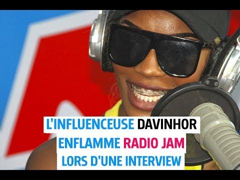 Interview avec L'influenceuse DAVINHOR  sur Radio Jam