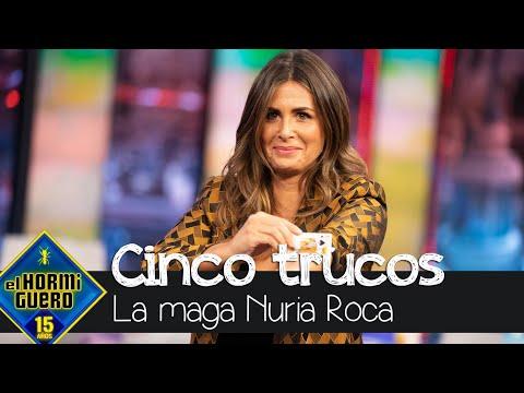 Los cinco increíbles trucos de magia de Nuria Roca para dejar a todos sin palabras – El Hormiguero