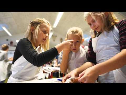 Nye rum til naturfagene på Strandby skole