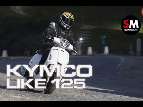 Prueba KYMCO Like 125 2018 [FULLHD]