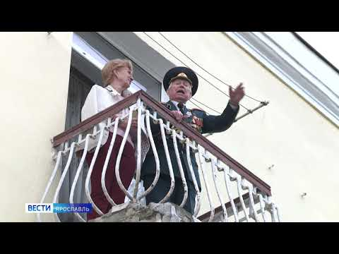 Под окнами каждого ветерана в Ярославской области провели парад Победы