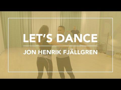 Jon Henrik Fjällgren från Let's Dance besöker Skandinaviska Kiropraktorhögskolan.