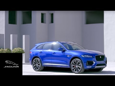 Jaguar F-PACE | A Performance SUV with Sports Car DNA