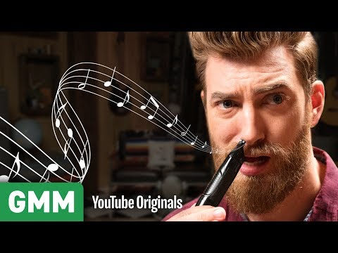 connectYoutube - Nose Hair Trimmer Music | Is This An Instrument?