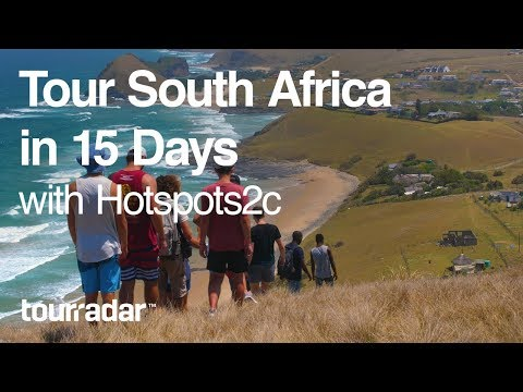Tour South Africa in 15 Days with Hotspots2c