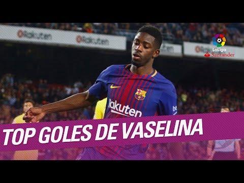 TOP Goles de Vaselina LaLiga Santander 2017/2018