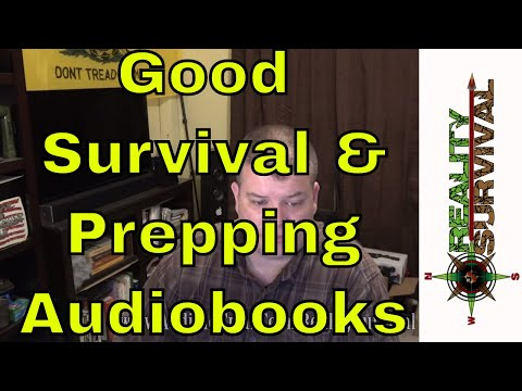 Survival and Prepping Audiobook Recommendations
