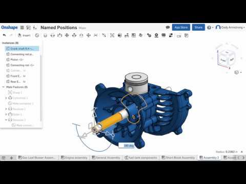 What's New in Onshape (January 13th, 2017) Named Positions