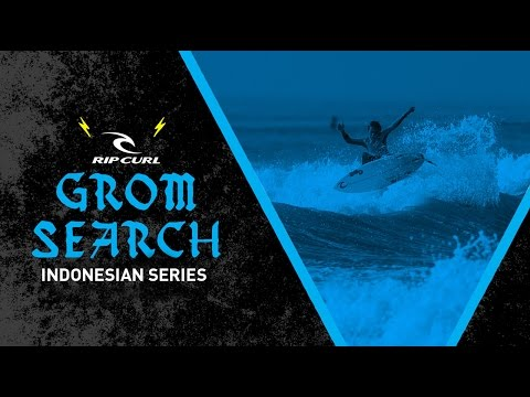 2017 Rip Curl GromSearch Indonesia: Official Teaser