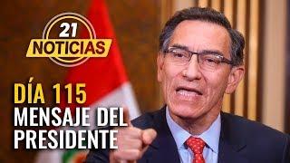 Mensaje a la nación del presidente Martín Vizcarra | Coronavirus Perú