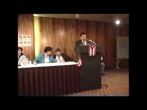 Conferencia sobre Asuntos Puertorriqueños de SOMOS Albany N Y  video por Jose Rivera 1993
