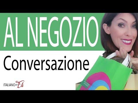 ITALIAN CONVERSATION in a SHOP 👕 - Conversazione in italiano