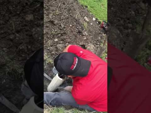 Repairing a Concrete Sewer Line