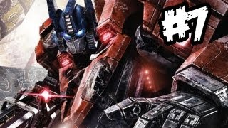 Transformers Fall of Cybertron - Gameplay Walkthrough - Part 7 - SNEAKY-TIME!! (Xbox 360/PS3/PC)