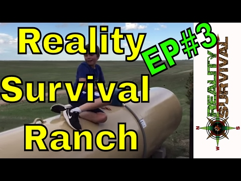 Reality Survival Ranch Ep #3 - Propane Tank Is Installed