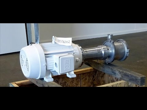 Used- Quadro Ytron Z Single-Pass Emulsifier / Homogenizer - stock # 48336002