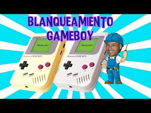 BLANQUEAMIENTO DE GAMEBOY