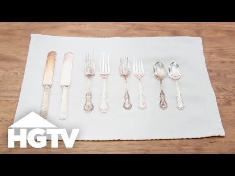 Easy DIY Silver Cleaner - HGTV