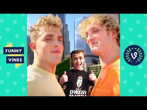 connectYoutube - Ultimate Jake and Logan Paul Brothers ft. Dwarf Mamba Vine Comp March 2018 | Funny Vines V2