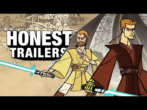 Honest Trailers | Star Wars: Clone Wars (2003)