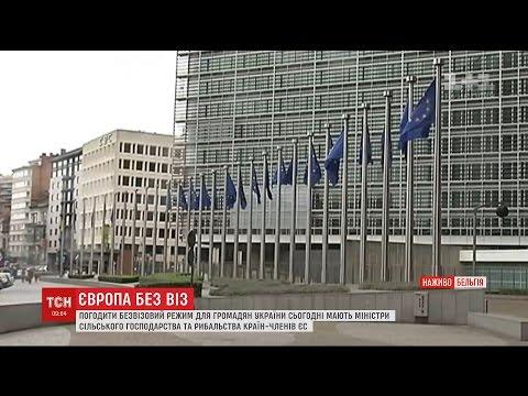 Чергові формальності для відкриття безвізу з Україною мають погодити в Брюсселі