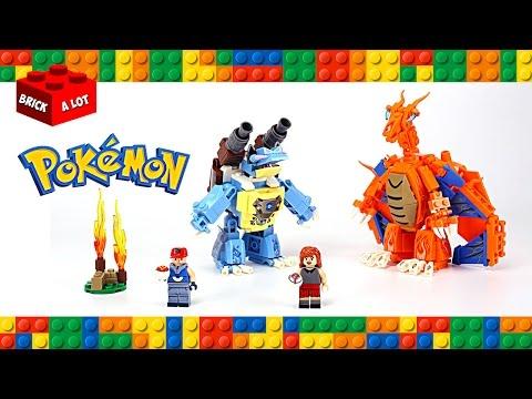 Lego Pokemon Instructions Part 3 Latios Regirock Kyogre And