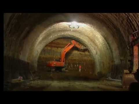 Vanntetting av tunnel med Mapei PVC-membran