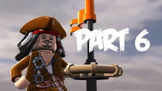 Lego Pirates of the Caribbean: Walkthrough Part 6 - Let's Play (Gameplay & Commentary)