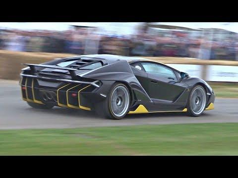 Lamborghini Centenario Launch Control Accelerations  LOUD Sounds!