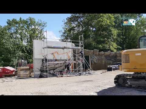 Zoo Rostock | Polarium-Baustelle Juli 2018